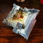 My bismuth crystal