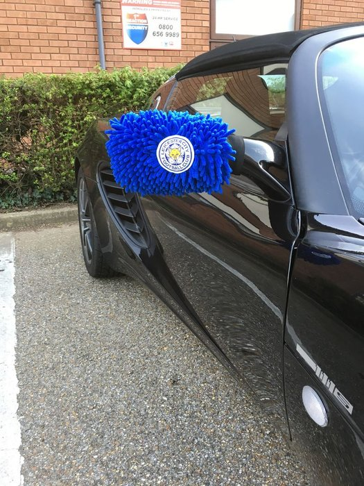 LCFC Wing mirror sock
